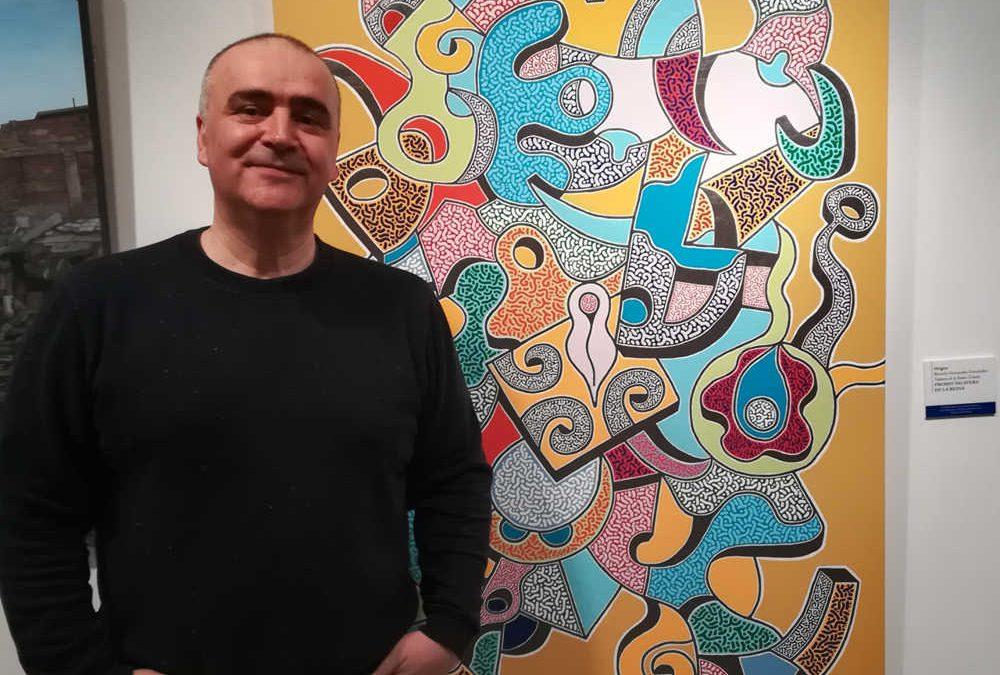 Ricardo Fernández, artista «A todo Color»