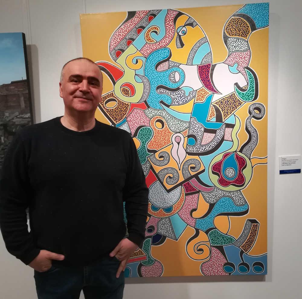 """Ricardo Fernández. Artista de """"A todo Color"""""""