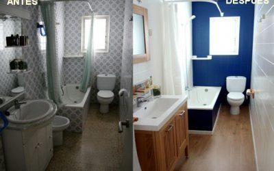 Renovar el baño sin obra: pintar azulejos