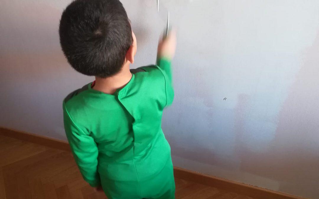 Consejos para pintar la habitación con niños