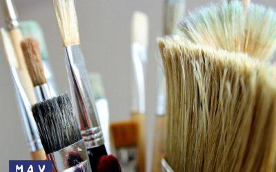 ¿Cómo limpiar brochas y pinceles?