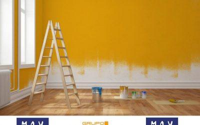 Pintar la casa ¿Cuándo es la mejor época?