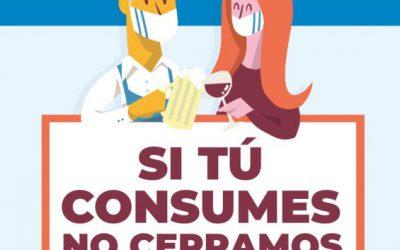 Si tú consumes, no cerramos
