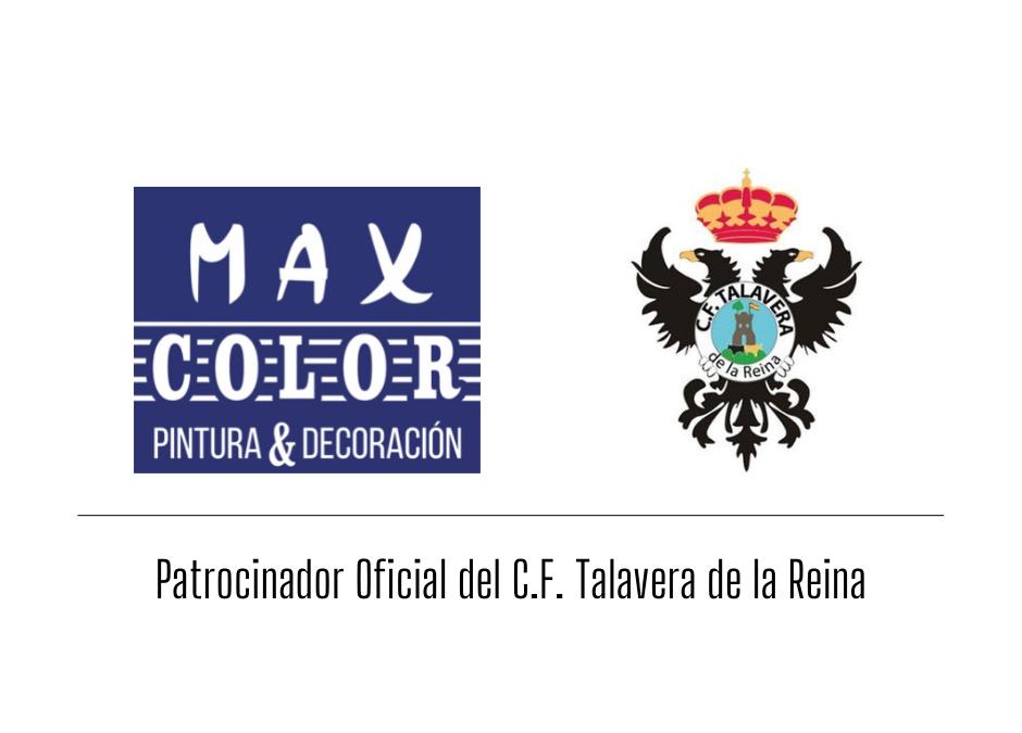 Acuerdo Max Color y C.F Talavera de la Reina